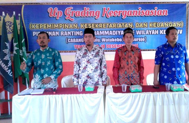 Asah Skill Organisasi Up-Grading Wilayah Kerja IV Cabang Muhammadiyah Jember #Cabang Ranting persyarikatan