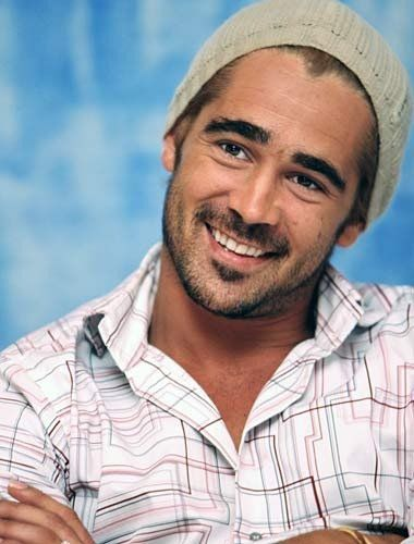 Colin Farrell,my new celebrity crush. I think this will be my pass card