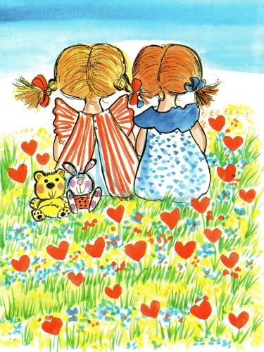 friends.quenalbertini: Friendship by Virpi Pekkala
