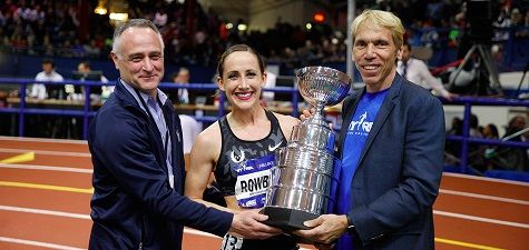 RunnersWeb  Athletics: Defending Champion Shannon Rowbury and Olympic Medalist Clayton Murphy to Highlight NYRR Wanamaker Mile Fields at 110th NYRR Millrose Games