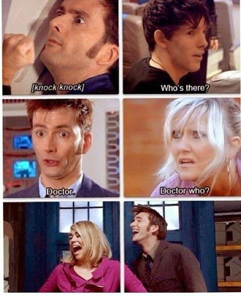 Doctor Who knock knock joke