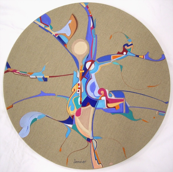 Alex Janvier - Truly a unique artist and interesting individual