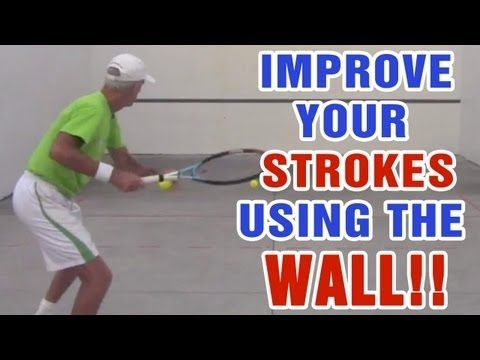 Tennis Drills - How To Improve Your Strokes Using The  Wall