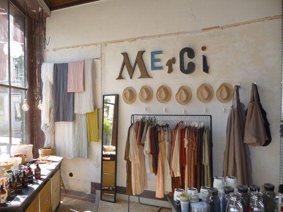 Installation Boutique Merci - Trouville  http://bubblej.tumblr.com/