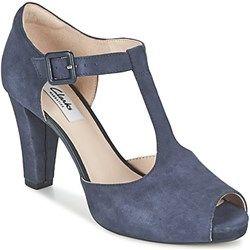 Sandały damskie Clarks - Spartoo
