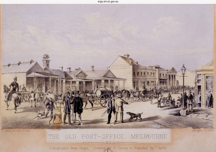 First Melbourne Post Office - supposedly run (mail sorted and distributed) for a time in the mid 1800's by Antonio Azzopardi and his wife Margaret. He arrived in Melbourne in July 1839. (He was born in 1805 in Zejtun, Malta to Angelo Azzopardi - a merchant and Euphemia Cachia and died at 5 Erin St Richmond Melb in 1881). During the 1860's and beyond, he was at The Herald Passage (early newspaper) as a printer, lithographer draughtsman along with his first born son Angelo James Azzopardi…