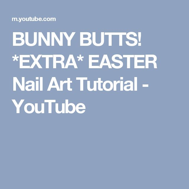 Ehmkay Nails Shy Bunny Easter Nail Art: 17 Best Ideas About Easter Nail Art On Pinterest