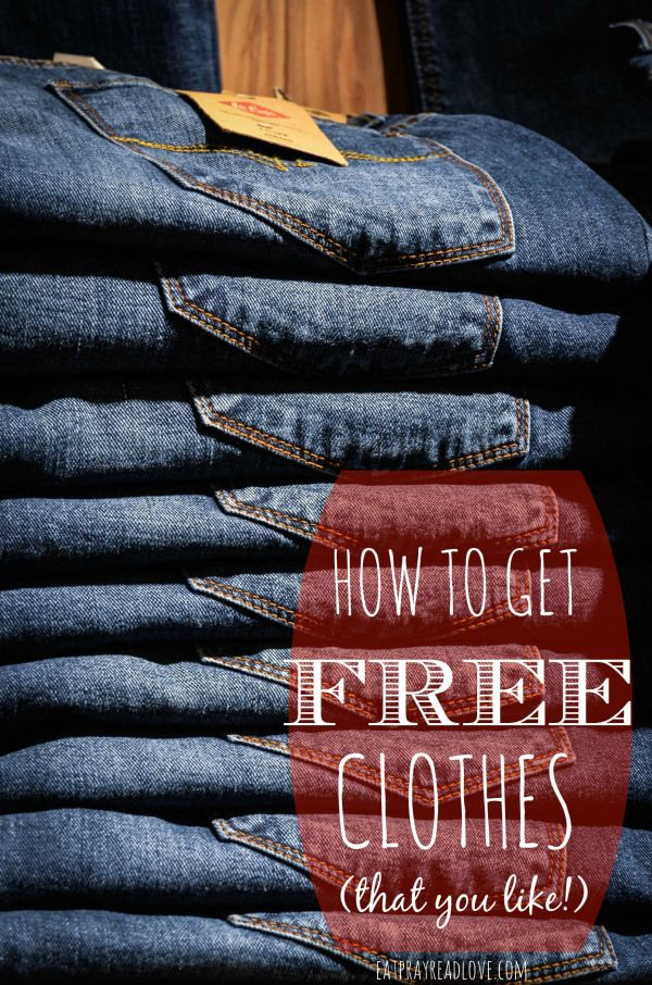 Seriously a fun idea! How to get free clothes- that you like!