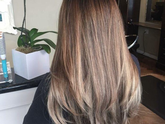 Best 10 brune meche blonde ideas on pinterest - Balayage pour brune ...