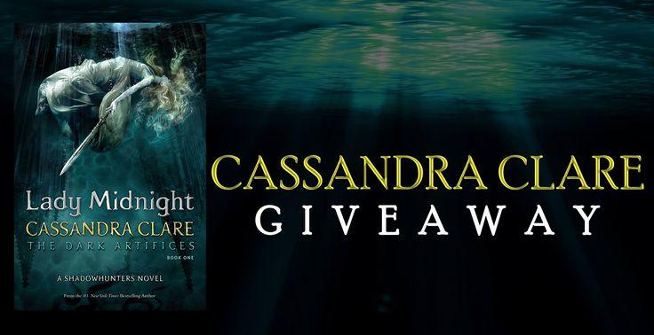 #Paranormal #Fantasy #YoungAdult #Giveaway – #Win ANY #CassandraClare Novel #kindle #amreading