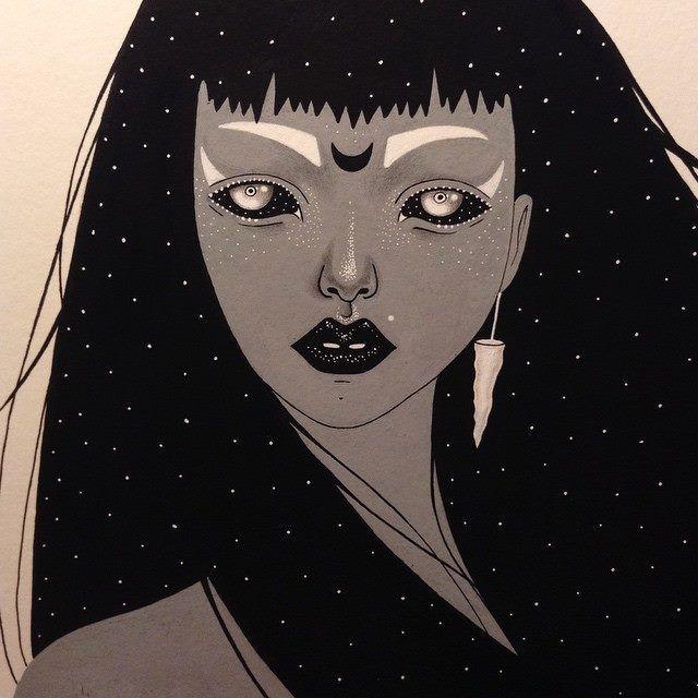 Madelen Foss  Galaxy Woman