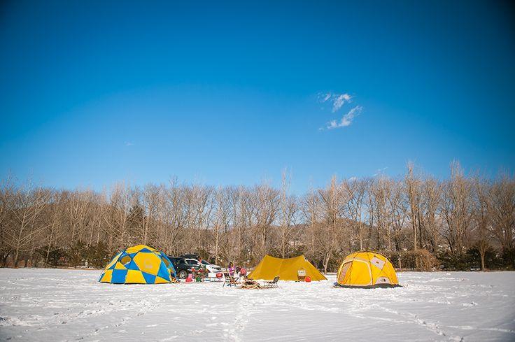 [HealingCamping]  오롯한 겨울캠핑