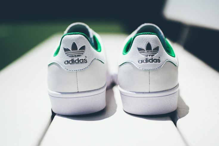 adidas Skateboarding Stan Smith Vulc White/Green | Sneakers.fr