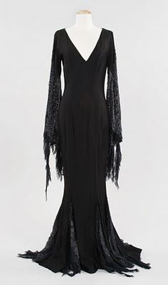 "Morticia Addams dress from ""Addams Family Values"""