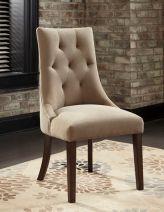 Шикарный стул с отделкой из мягкой ткани Mestler, Ashley, США