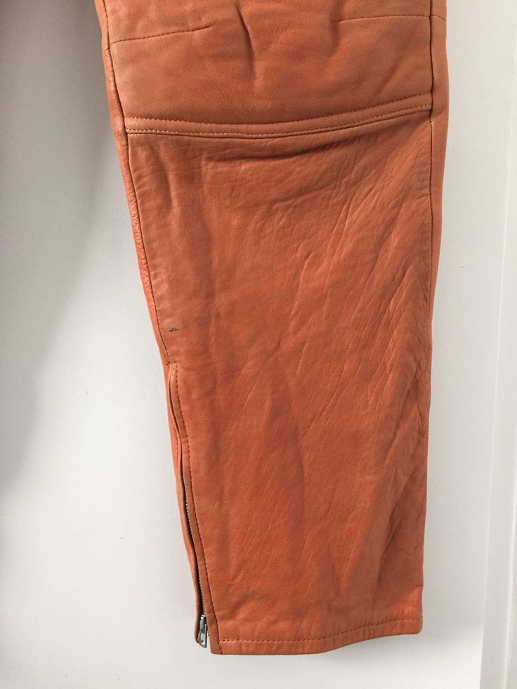 Helmut Lang leather pants very rare Vintage | eBay