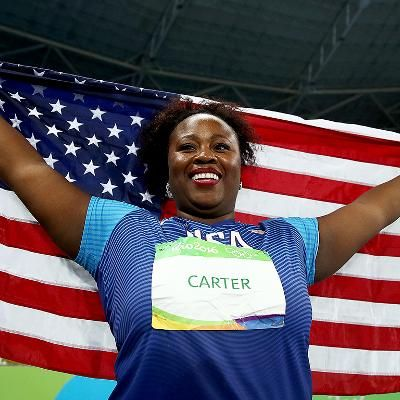 Hot: Michelle Carter Makes History as First American to Win Gold in Women's Shot Put