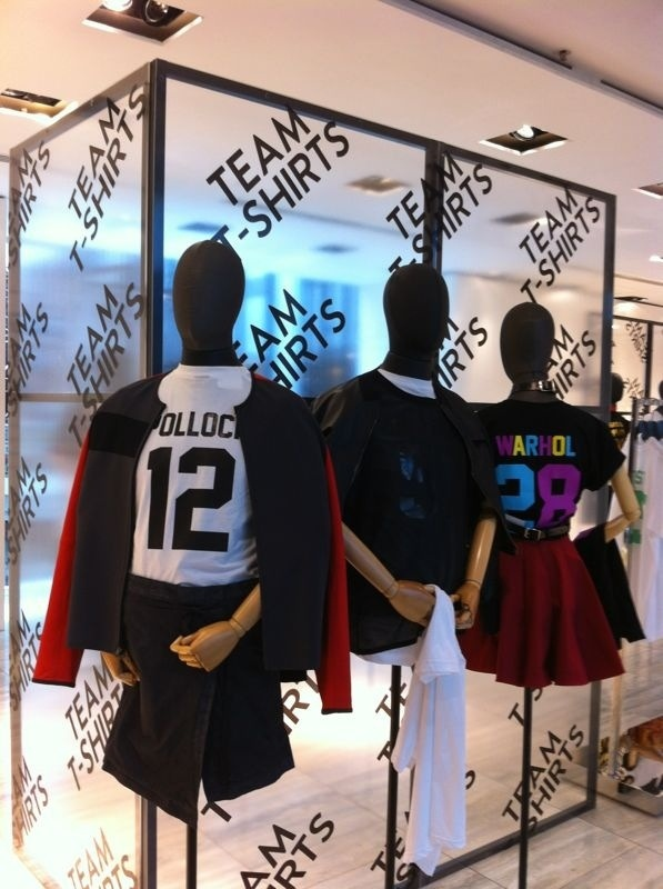 LPD New York tshirts for Lane Crawford