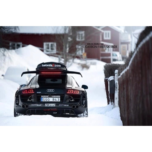 Every R8 should look like this in the snow