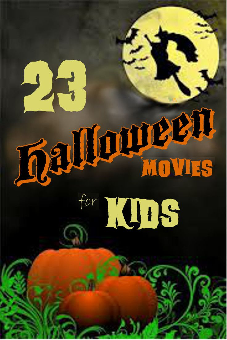 23 Halloween Movies for Kids   flusterbuster.com