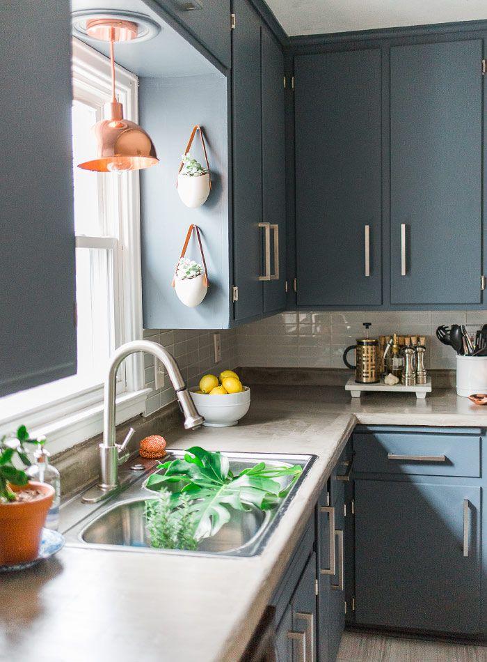 Greenery Warms Up a Modern Home in Iowa | Design*Sponge