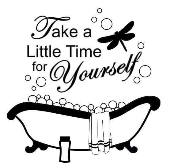 Take time for yourself!! #Bathtub #Dragonfly #Vinyl Creations for your Home and…