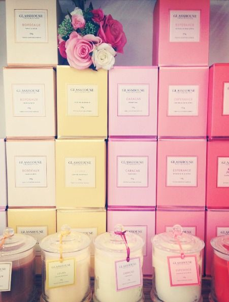 Glasshouse candles - These are one of the BEST candles you can buy. Love them.
