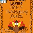 Do you have what it takes to plan a big Thanksgiving dinner? This project will test your kids planning and Math skills! The kids get to decide who they want to invite to their dinner, and the guest list drives this project! They will do real-life calculations using actual grocery store ads and conversion charts when creating their shopping list.