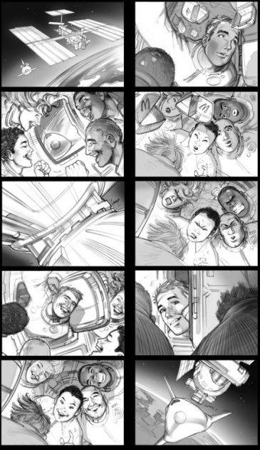 Storyboard Illustration by Kai Simons