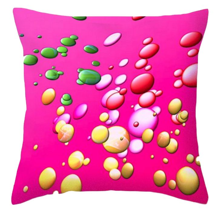 I think pink is a wonderful colour for home decor. Bright yet calming, interesting yet common. I've tried to spice this one up by adding some gold, green and red. I  mostly design for cushions so this will be ideal for a bland room in your house I reckon. What do you think?