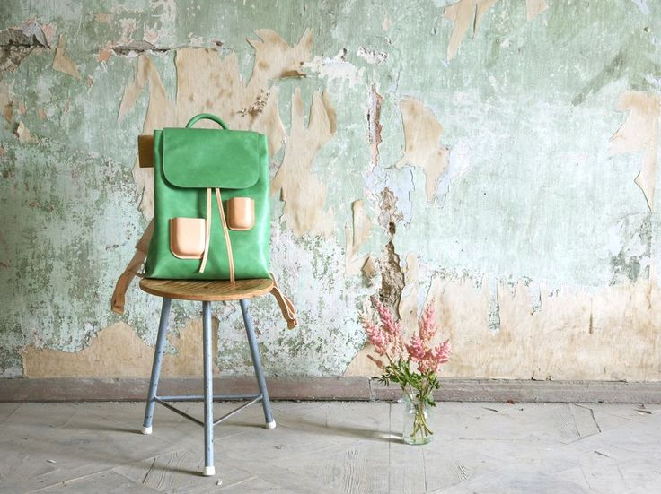 Pocket Backpack Green via Kuula   Jylhä. Click on the image to see more!