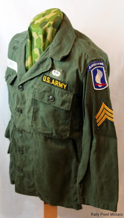 Vietnam War Airborne Uniform For A 173rd Kia Veteran