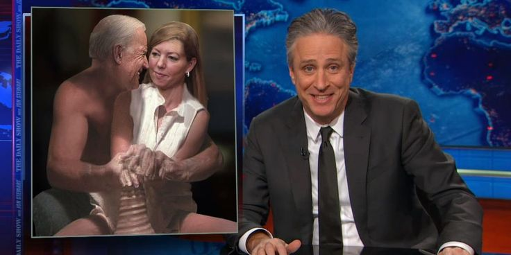 Jon Stewart goes to town on 'creepy Joe Biden' | The Daily Dot