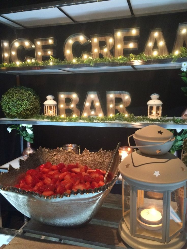 17 best images about catering sweet table ice cream bar