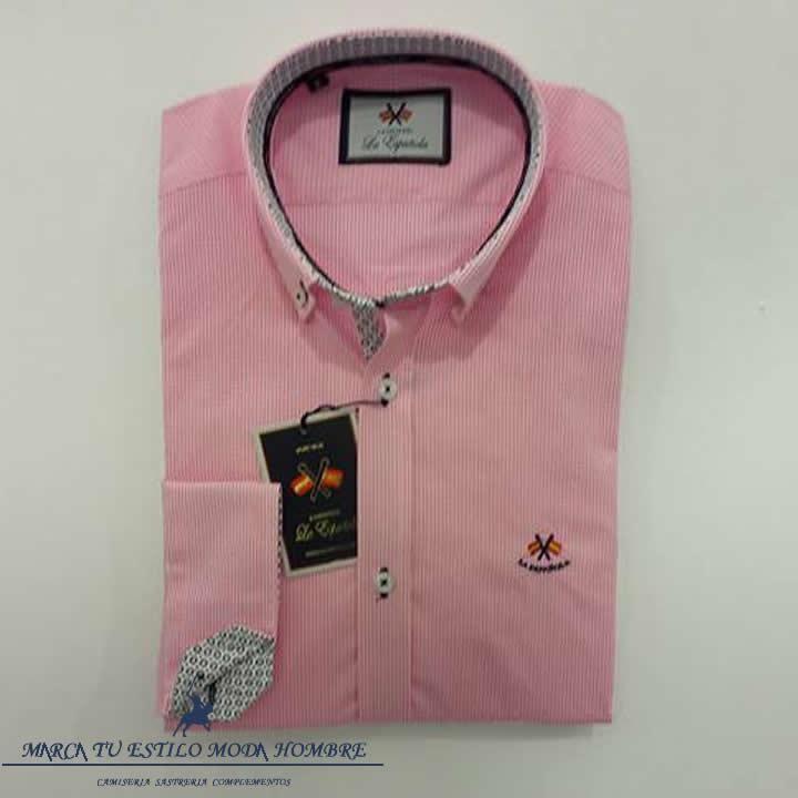 Camisa La Española Vichy Rosa