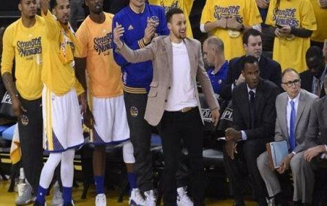 Klay Thompson anotó 27 puntos con siete triples y los Warriors de Golden State pasaron a segunda ronda de los playoffs de la NBA