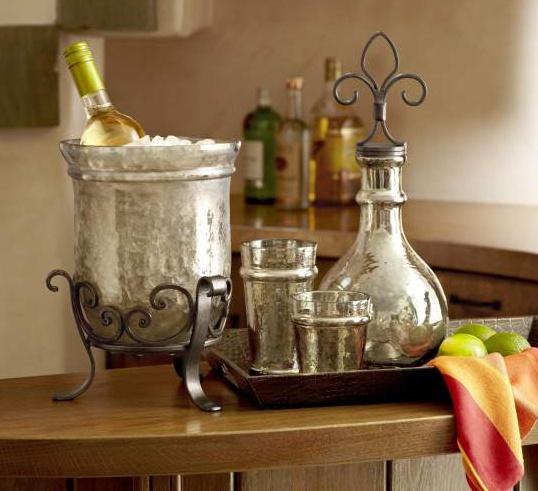 Amber Glass Wine Chiller. DecanterWine ChillersGlass BarAmber GlassDecorating  IdeasDecor IdeasDining ... Part 67
