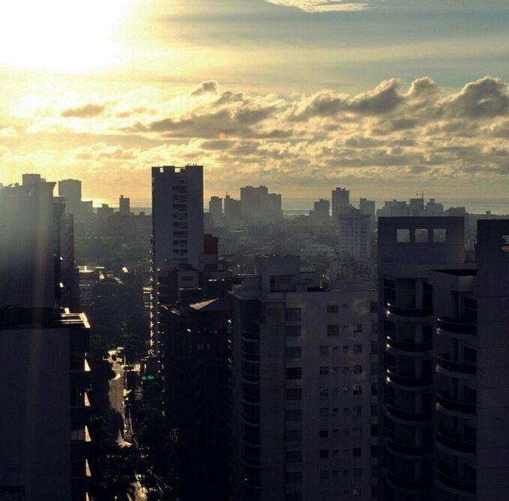 Cada día Barranquilla nos regala  hermosos atardeceres