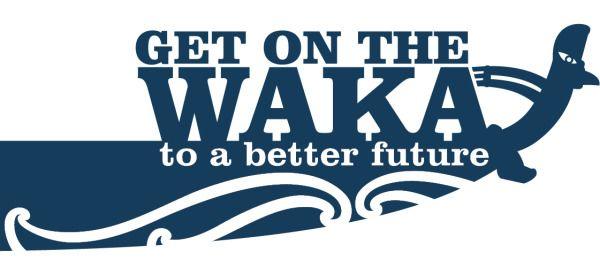Get on the Waka - Te Tapuae o Rehua