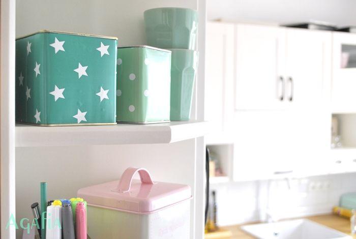 Jak przerobić puszki po herbacie? diy tea caddy, box, puszki, pojemniki