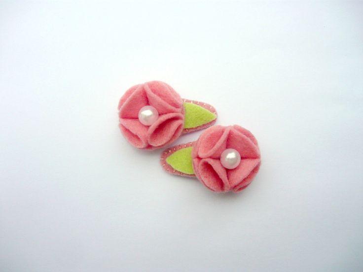 Par Tic Tac Mini Baby Florzinha -Rosa                                                                                                                                                                                 Mais