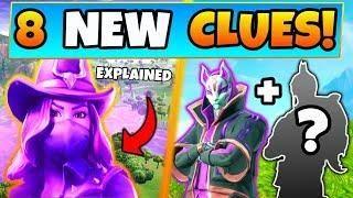 fortnite season 6 skins explained dark drift 8 clues theories battle royale update - nova skin fortnite season 8