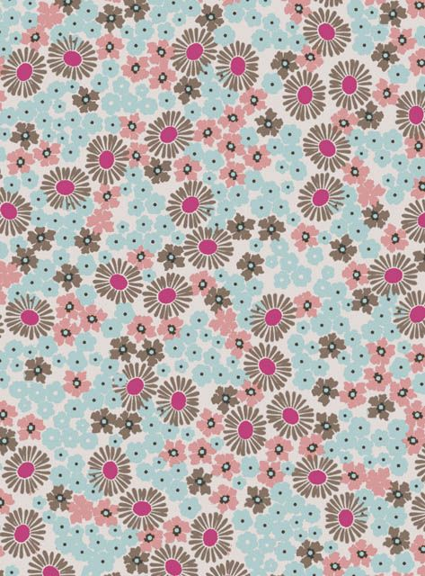Beautiful ditsy floral pattern