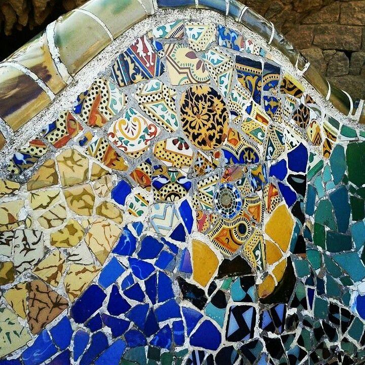 #Mosaico Park Güell, Barcelona