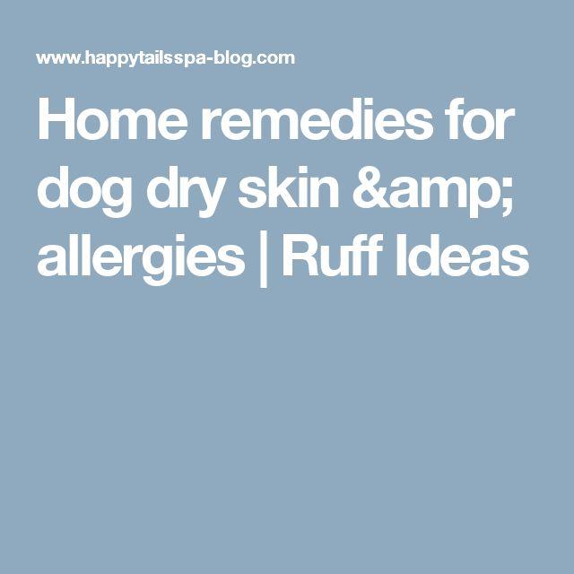 17 Best Ideas About Dog Skin Allergies On Pinterest