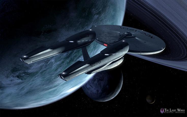 The Federation Starship Enterprise