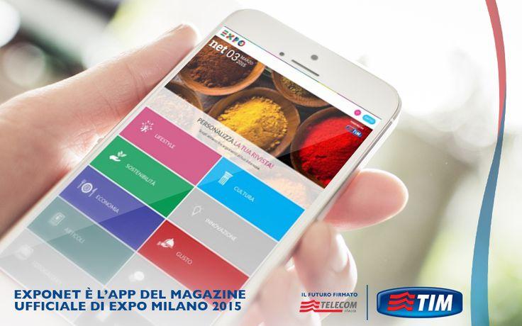 Tutto quello che volete sapere su Expo 2015 Milano sul vostro smartphone. Con l'app ExpoNet scegliete gli argomenti che più vi interessano in base agli hashtag e create la vostra reading list personalizzata bit.ly/Expo_net