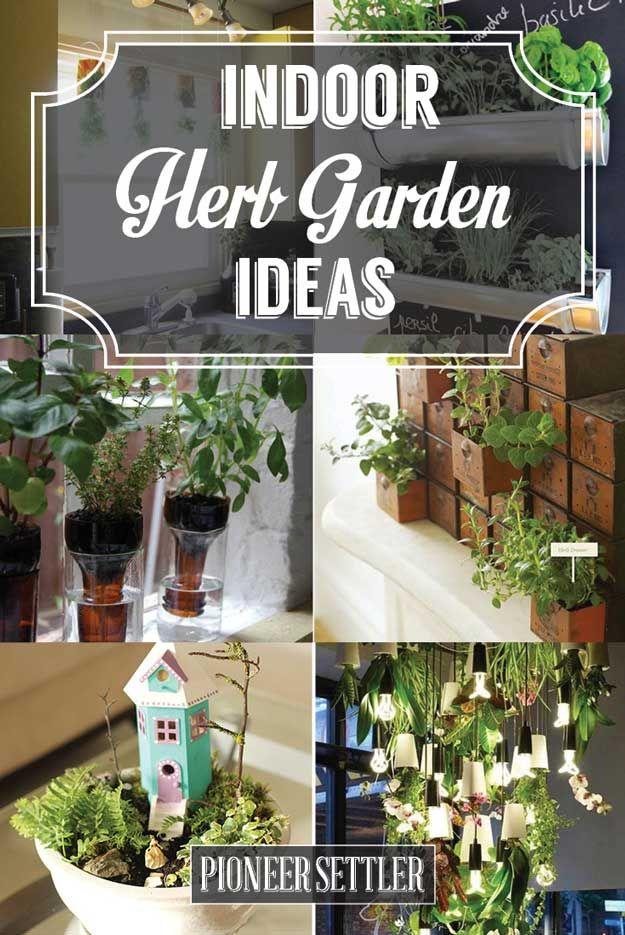 Indoor Herb Garden Ideas Herb Pots Home And Cooking