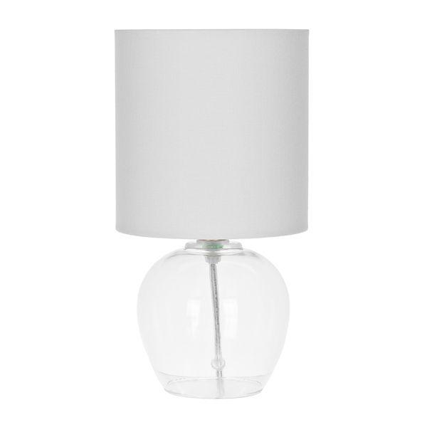 Clear Bali Glass Table Lamp Kirklands Glass Table Lamp Stylish Table Lamps Clear Glass Table Lamp