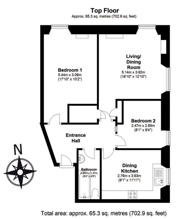 Floor Plan 23 5 Howe Street Zoopla Archive Siting Room Floor Plans How To Plan